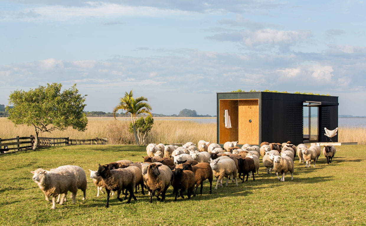 MINIMOD Prefab Off-Grid House by Mapa Architects - Humble Homes