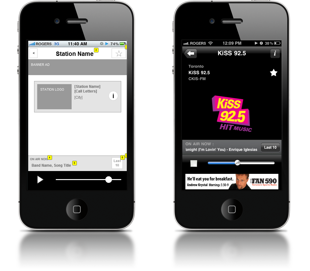 how to build radio station apps for iphone