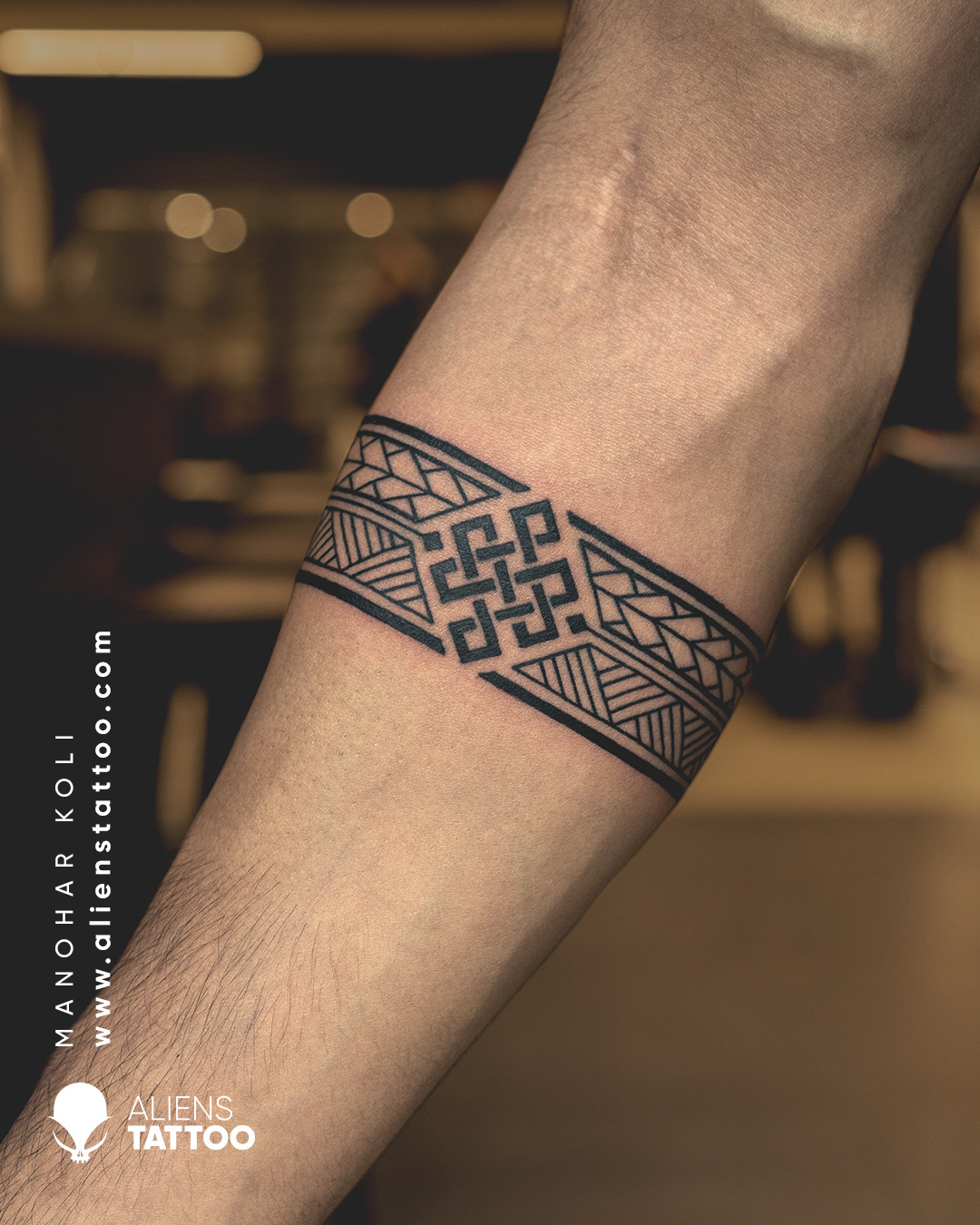 Arm Band Tattoo by Manohar Koli at Aliens Tattoo India   Behance