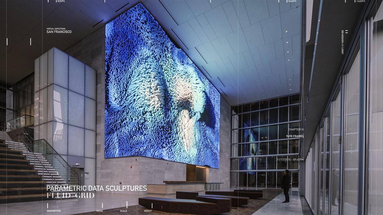 Virtual Depictions: San Francisco Art Project by Refik Anadol