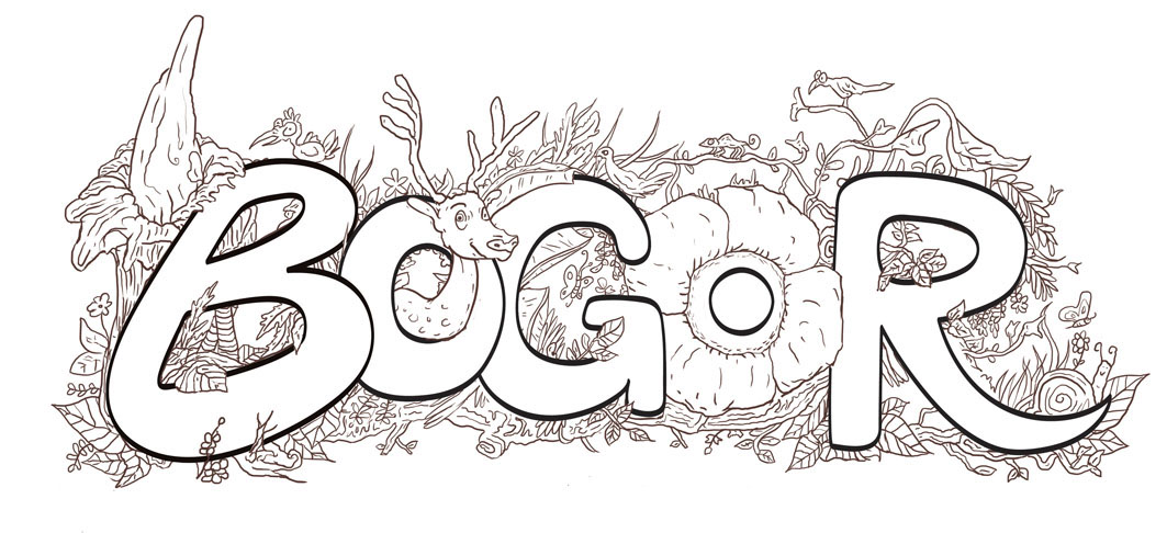 Side project for Bogor (Indonesia) City map/Travel map