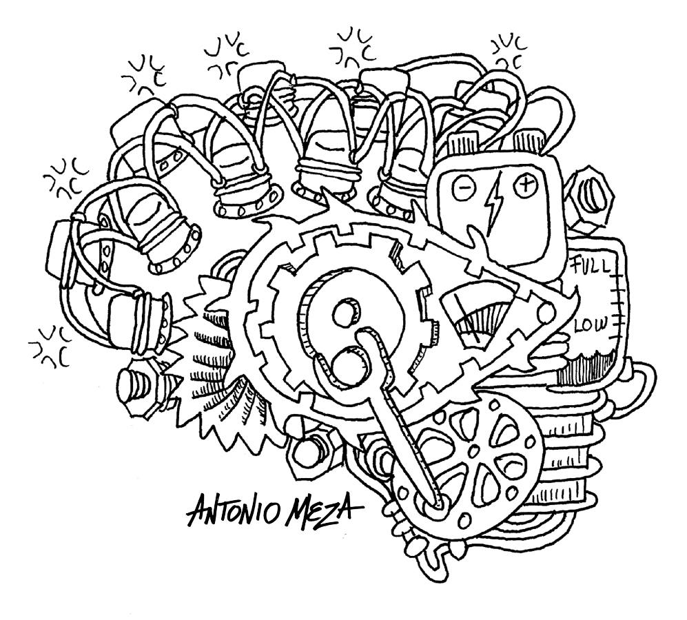 It is an image of Amazing brain coloring pages