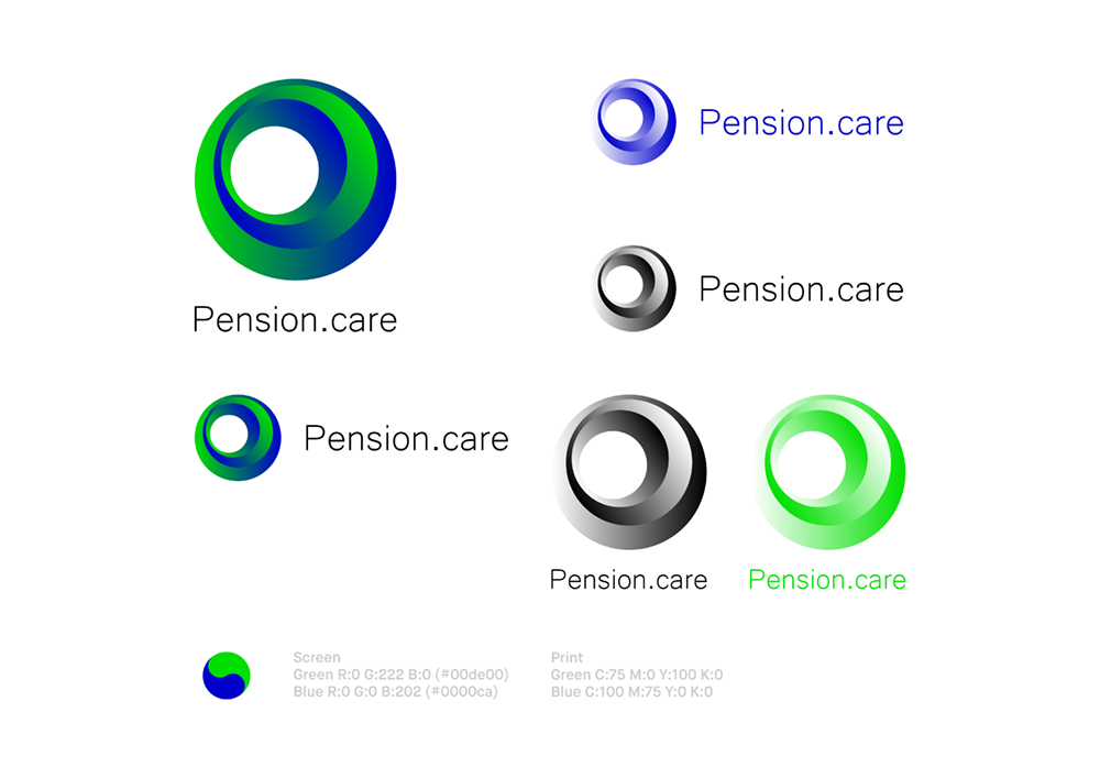 pension.care logo design