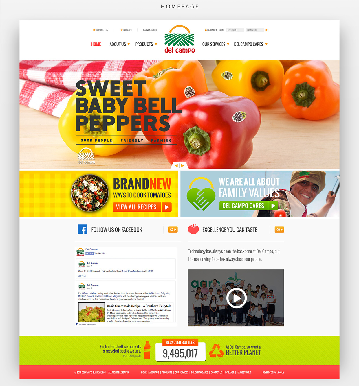 Del Campo Homepage