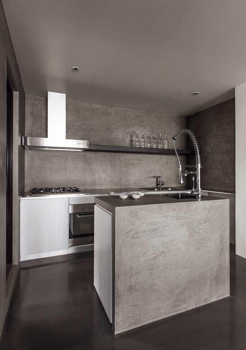 Wei yi design associates the initiation - Revestimientos paredes cocina ...