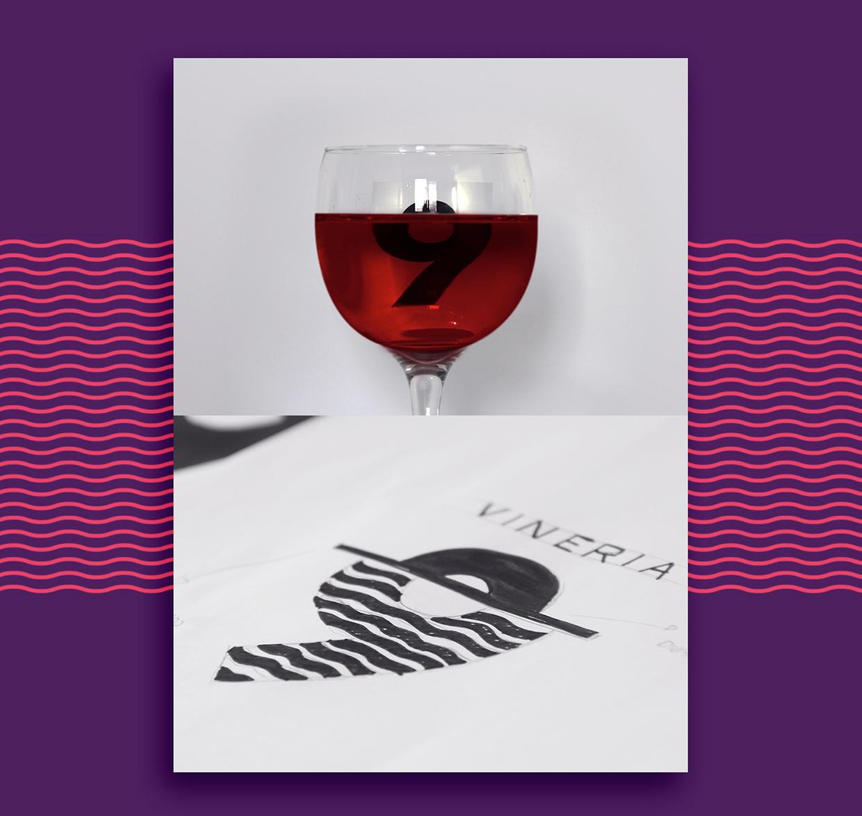 Vinery 9 Branding