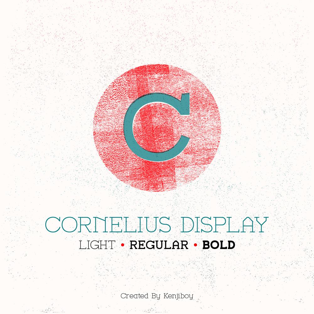 Cornelius Display Font Free Download