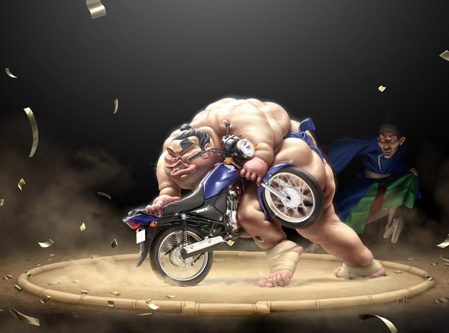 THE BEAST- Honda par O. Ramos