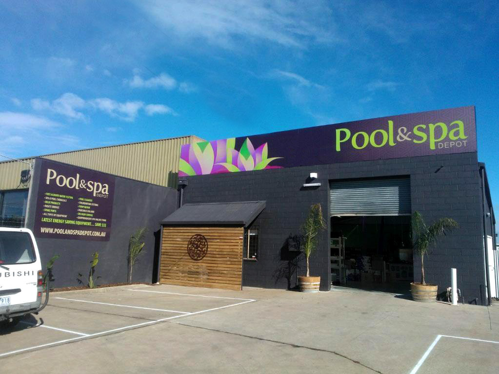 Branding Identity For Pool And Spa Depot In Geelong