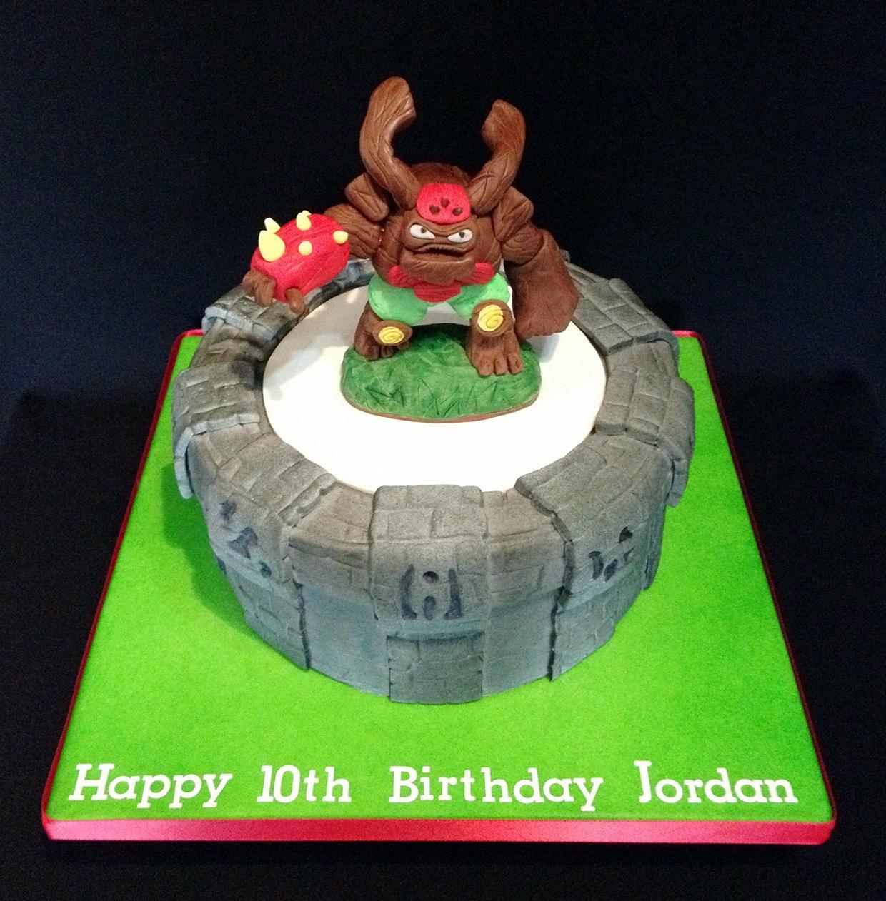 Skylanders Birthday Cake Asda