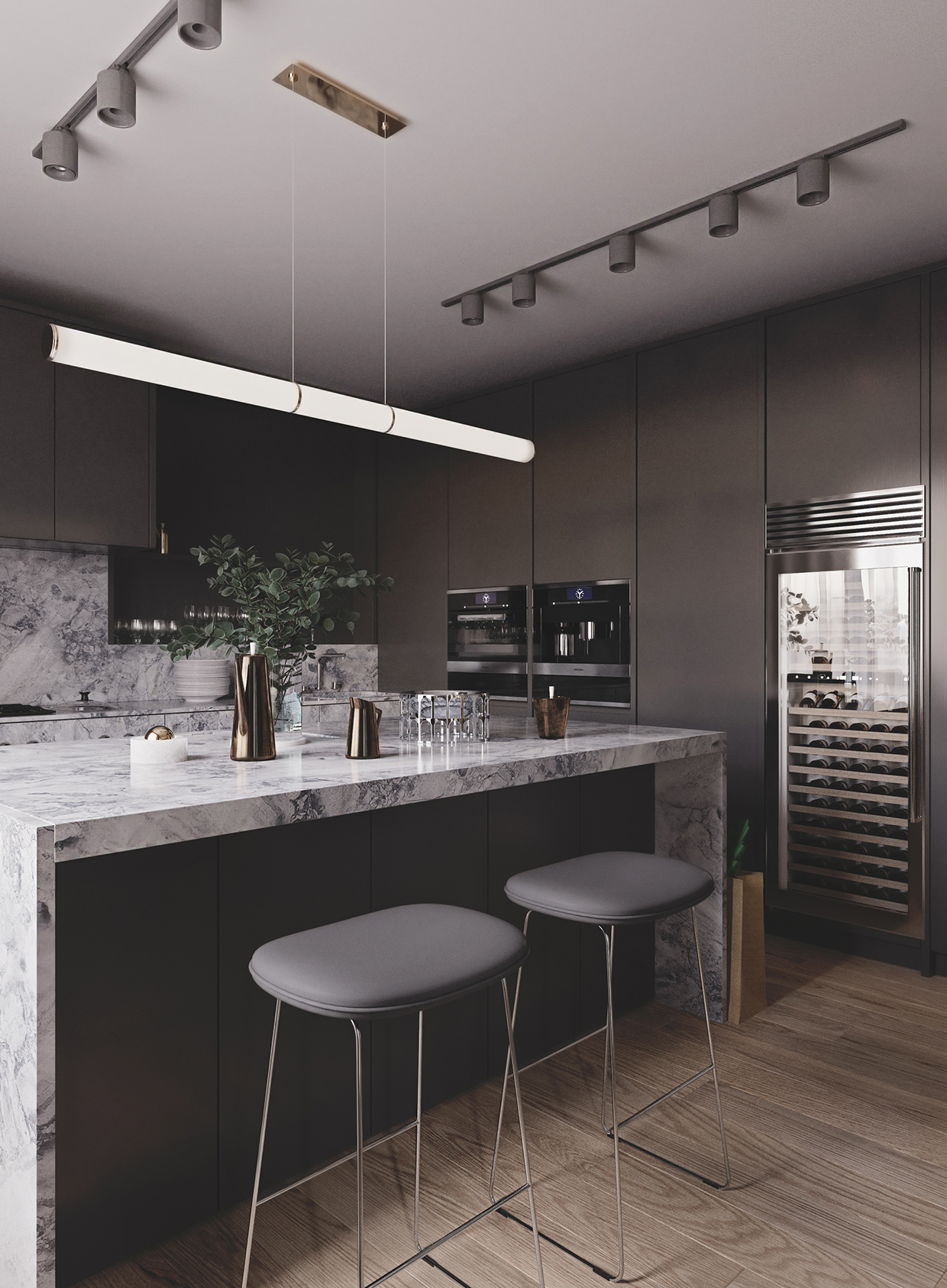 Master bedroom kitchenette  Alexandra Camarinha alexa on Pinterest
