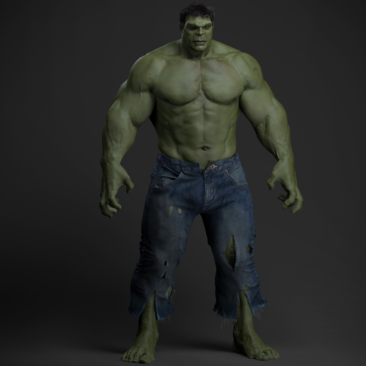 Pics Photos - Related Pictures Incredible Hulk 3d Conceptual Art