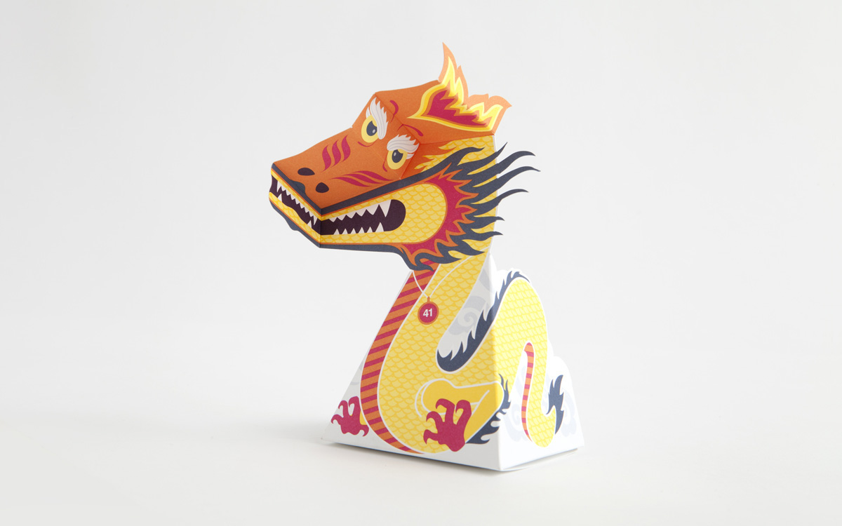 paper dragon illusion Here's a fun one for you – and all you need is card, a printer, scissors and tape the gathering for gardner dragon (if you're wondering why gathering for gardn.