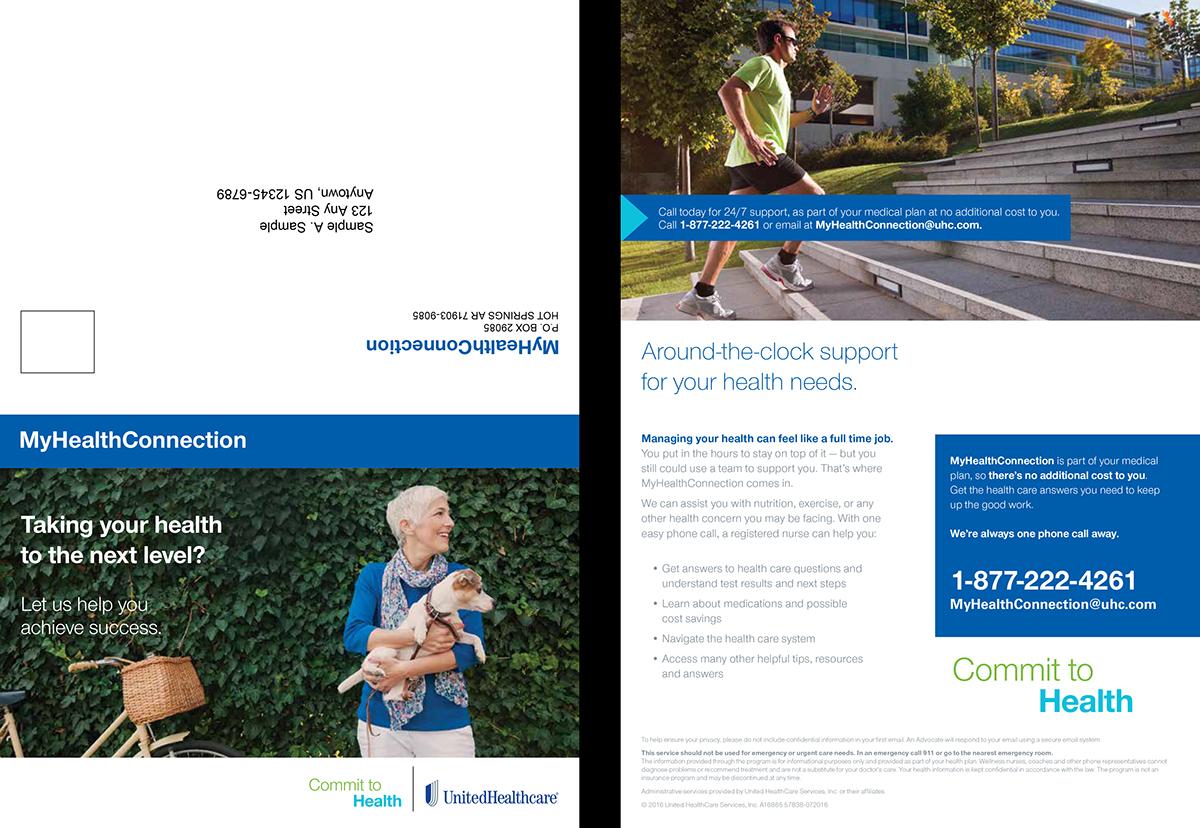 United Healthcare Q3 2016 High Volume Mailer on Behance