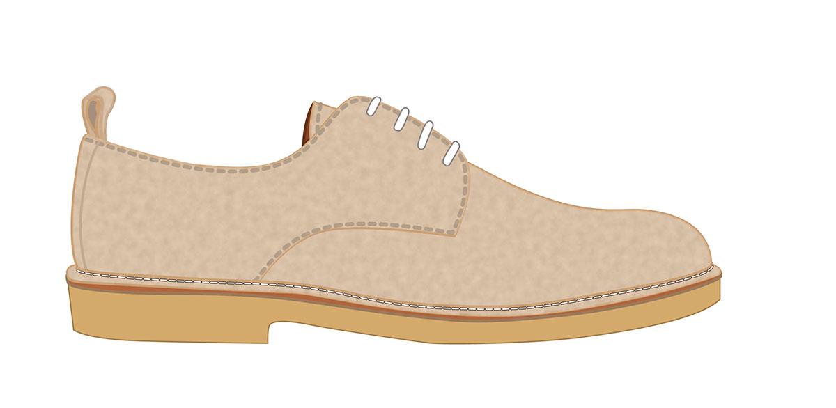 Shoe Illustration On Behance