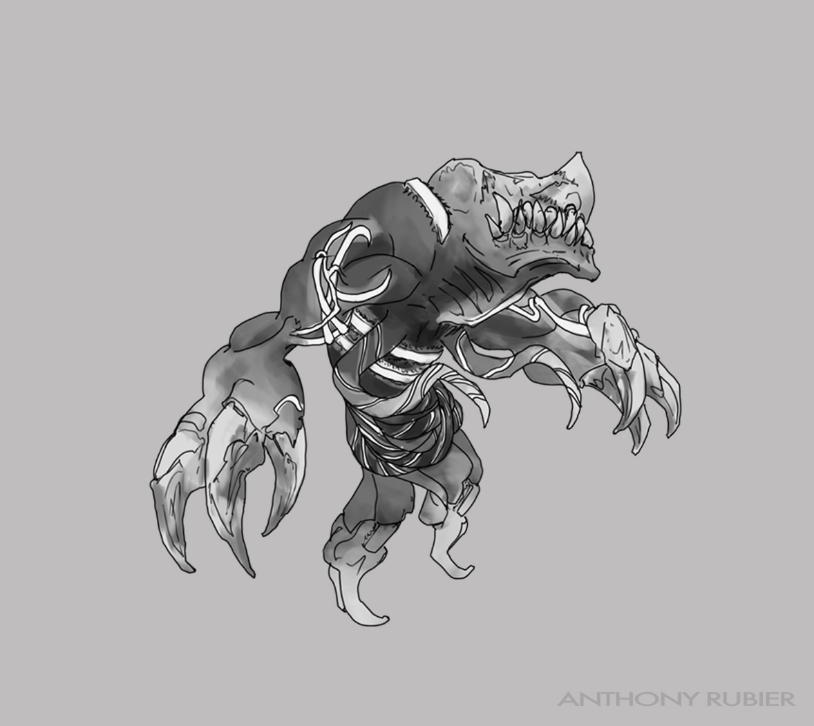 Monsters Concepts For The Deadlands On Behance