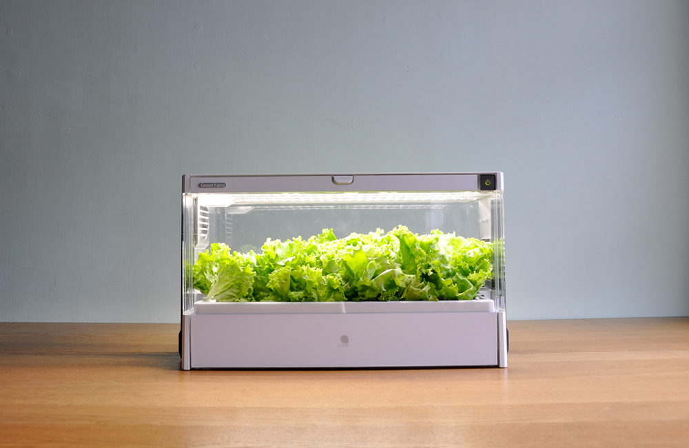 hydroponic Hydroponic Machine U-ING Inc conceptdevelopment designstrategy industrial design  product design  Prototyping styling  Usability