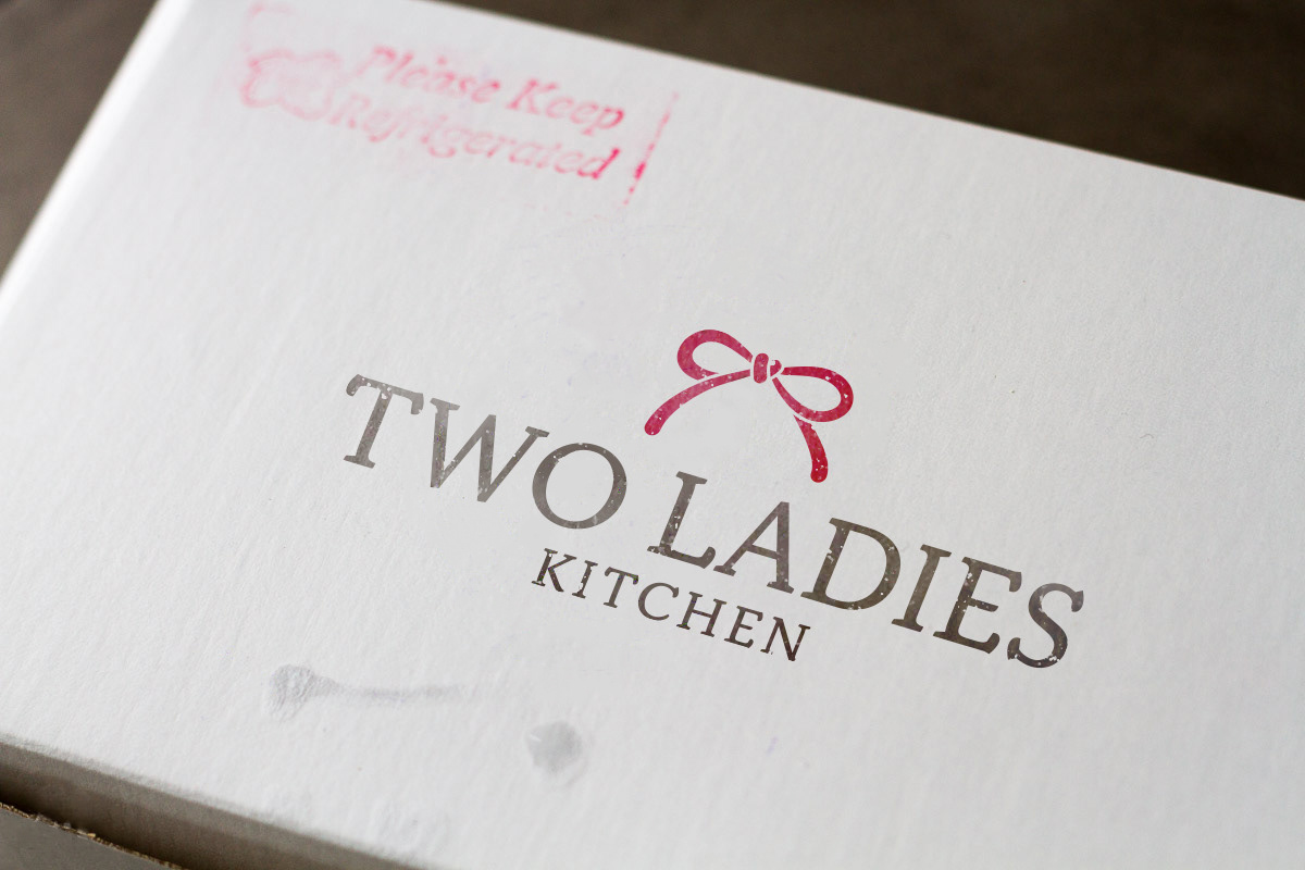 Two Ladies Kitchen Logo On Behance
