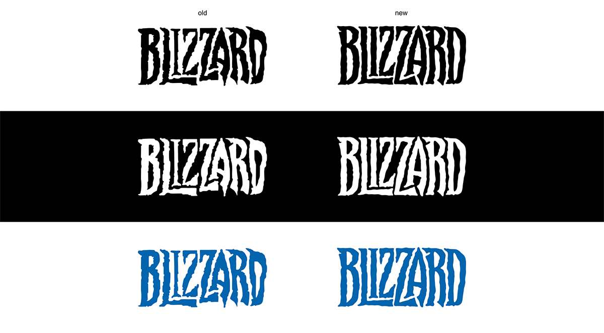 Redesign The Blizzard Logo On Student Show