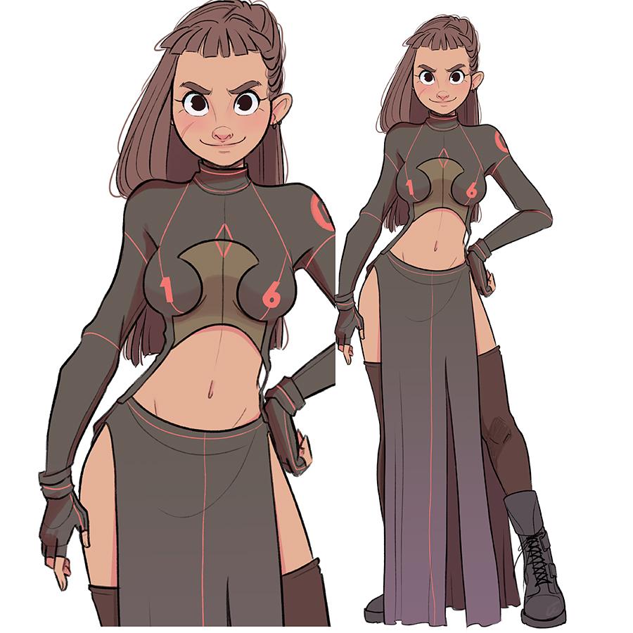 Character Design Oc : Character design oc warriors on behance