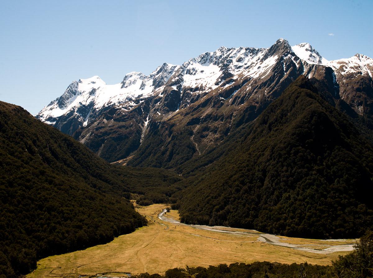 Aotearoa Landscape New Zealand