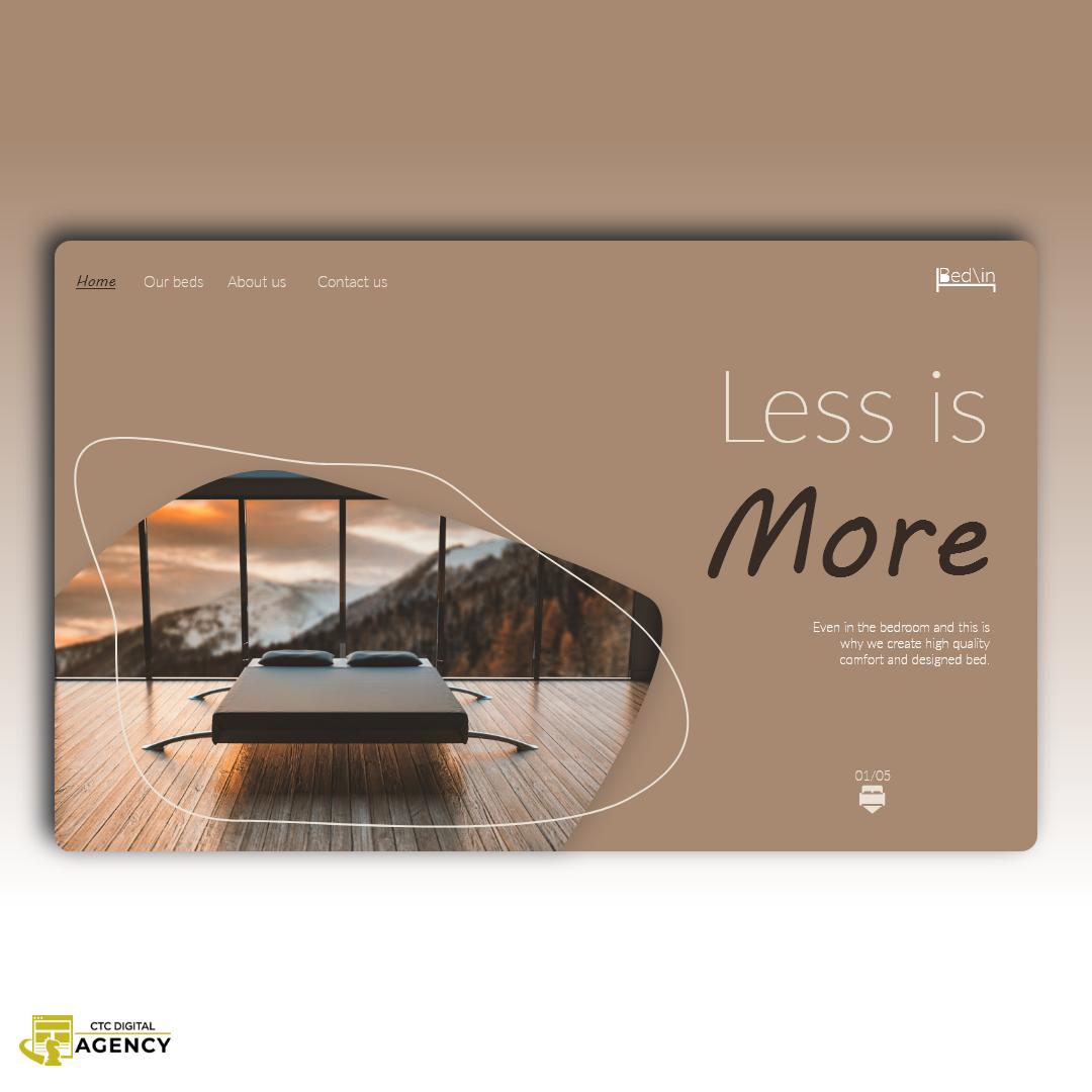 art bed branding  design landingpage UI uidesign ux uxdesign web development  Website