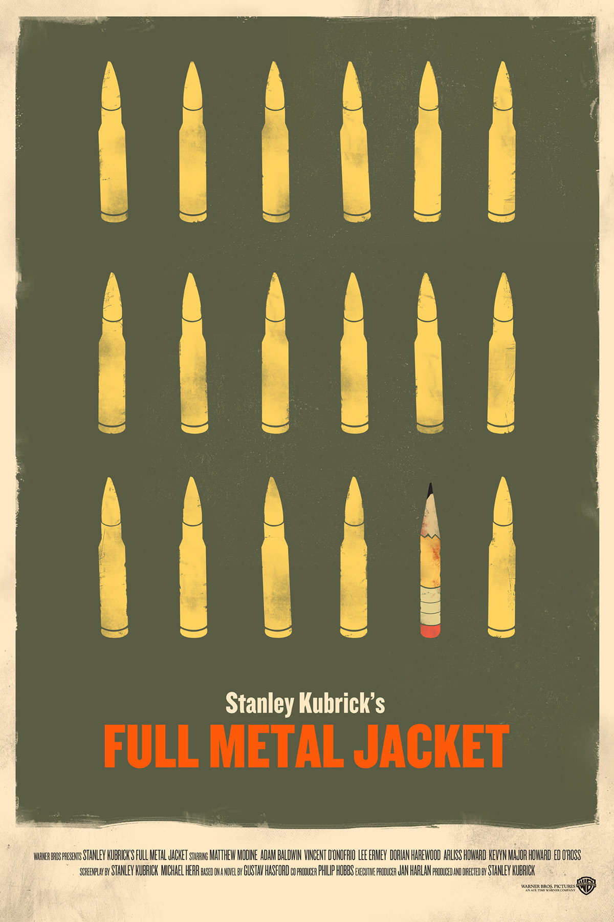 full metal jacket essay View essay - full metal jacket essay from history 3 at del mar high abstract: stanley kubricks film, full metal jacket, is a story that illustrates a young american.