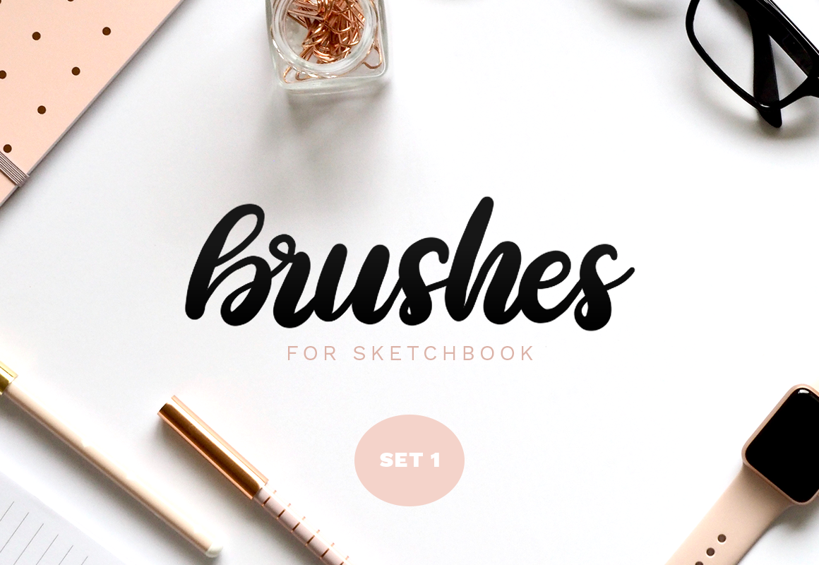 Sketchbook Brushes - 1 - Calligraphy on Behance