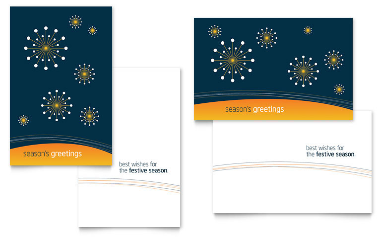 Free Greeting Card Template