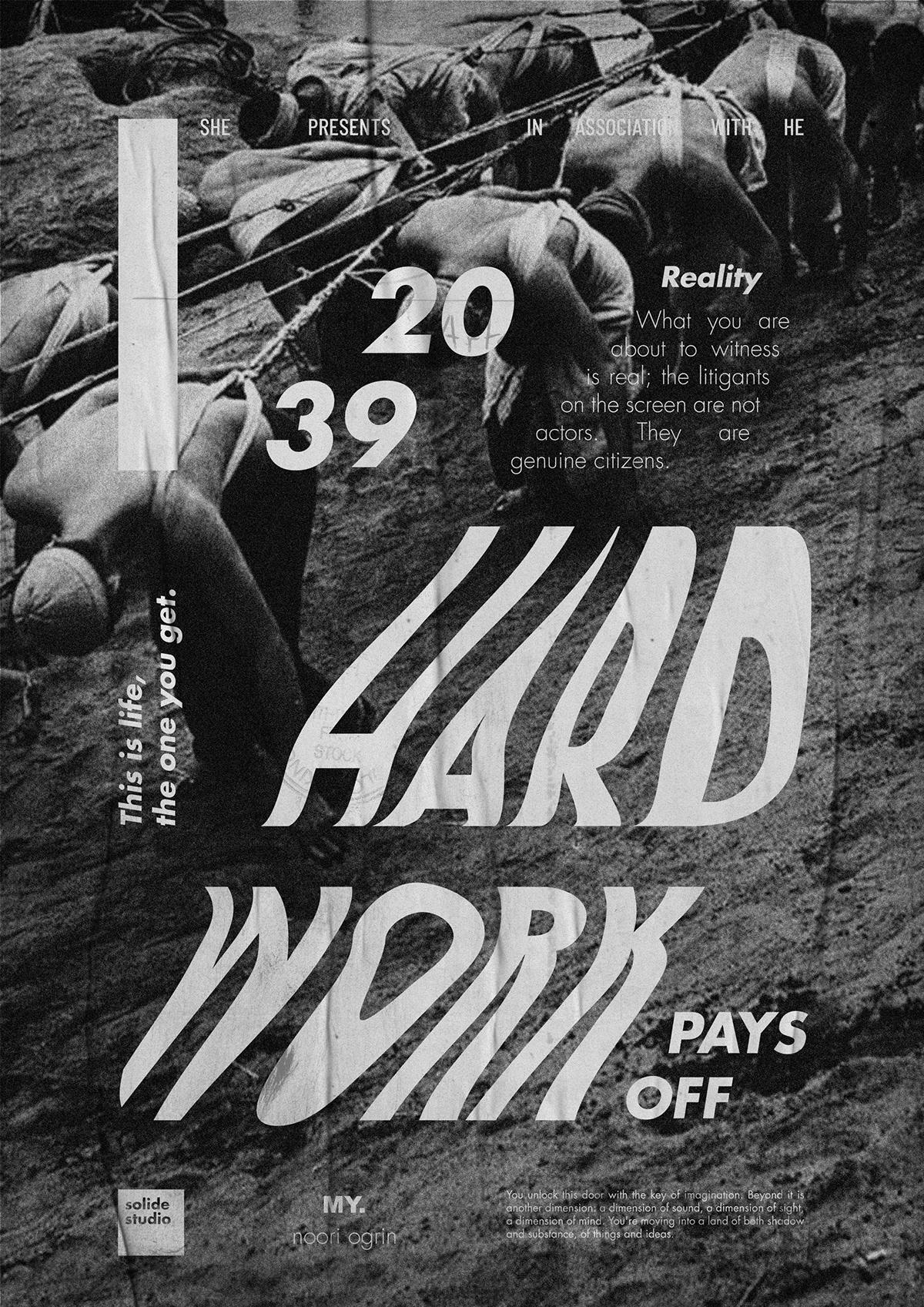 graphic design print typography