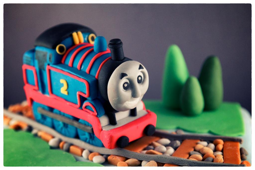 Andrea Hillman Thomas The Tank Engine Birthday Cake