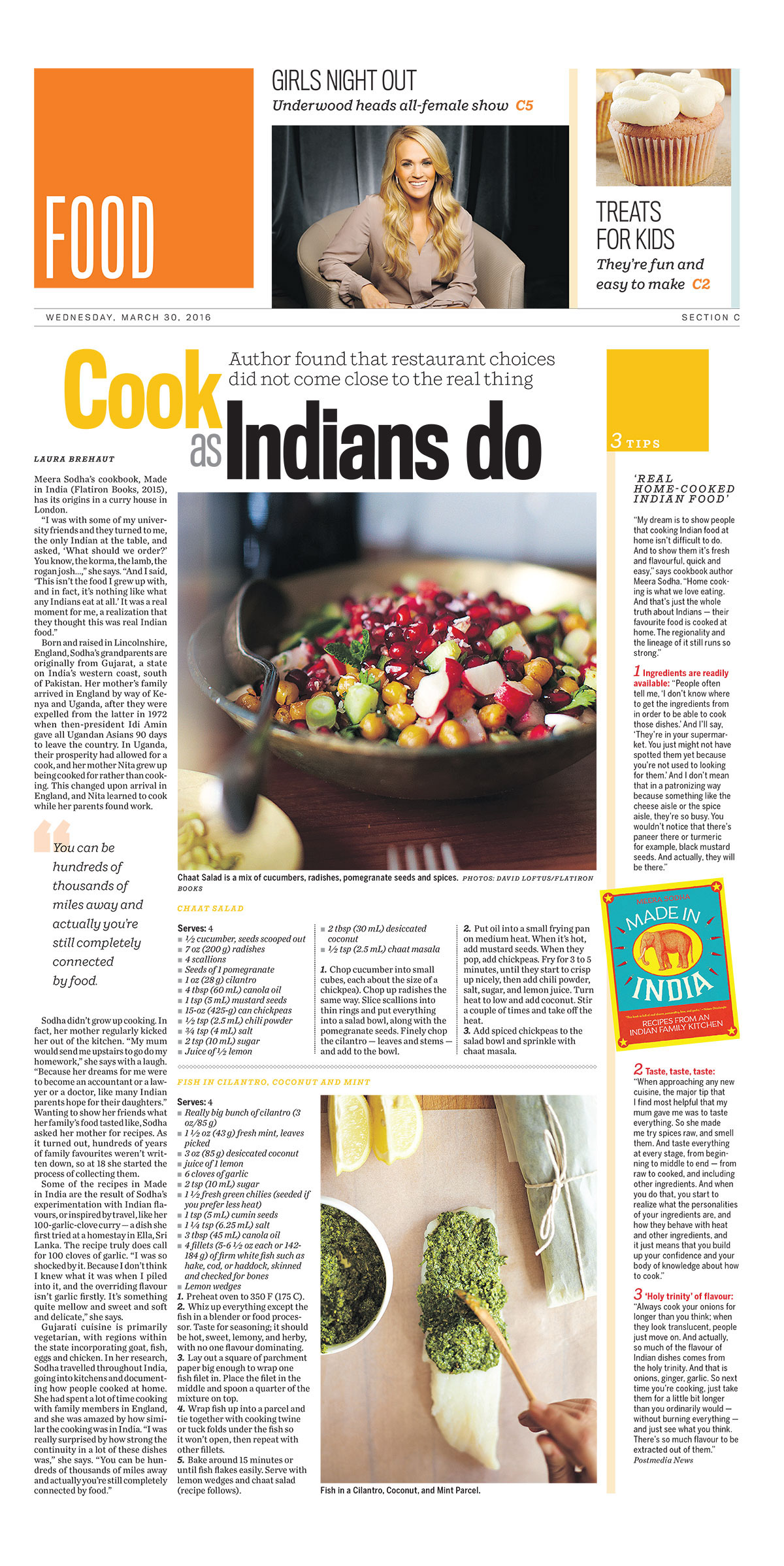 Meera Sodha On Why Indian Food Is Best Enjoyed At Home On Behance