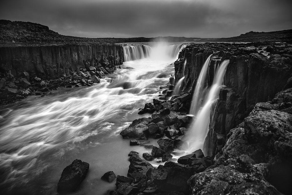 iceland Landscape Waterfalls aurora seascape lava seastacks