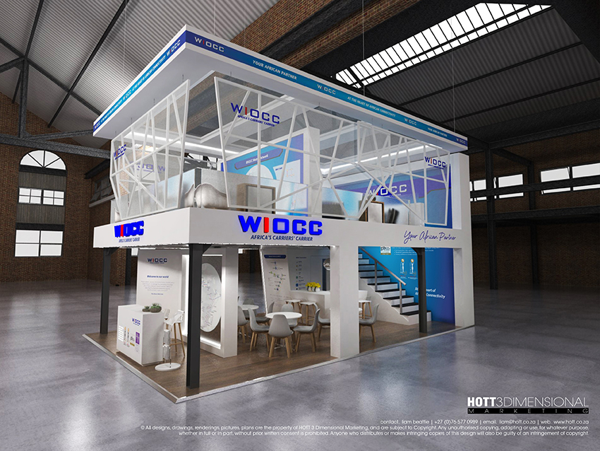 Exhibition Stand Design Cape Town : Wiocc africacom on behance