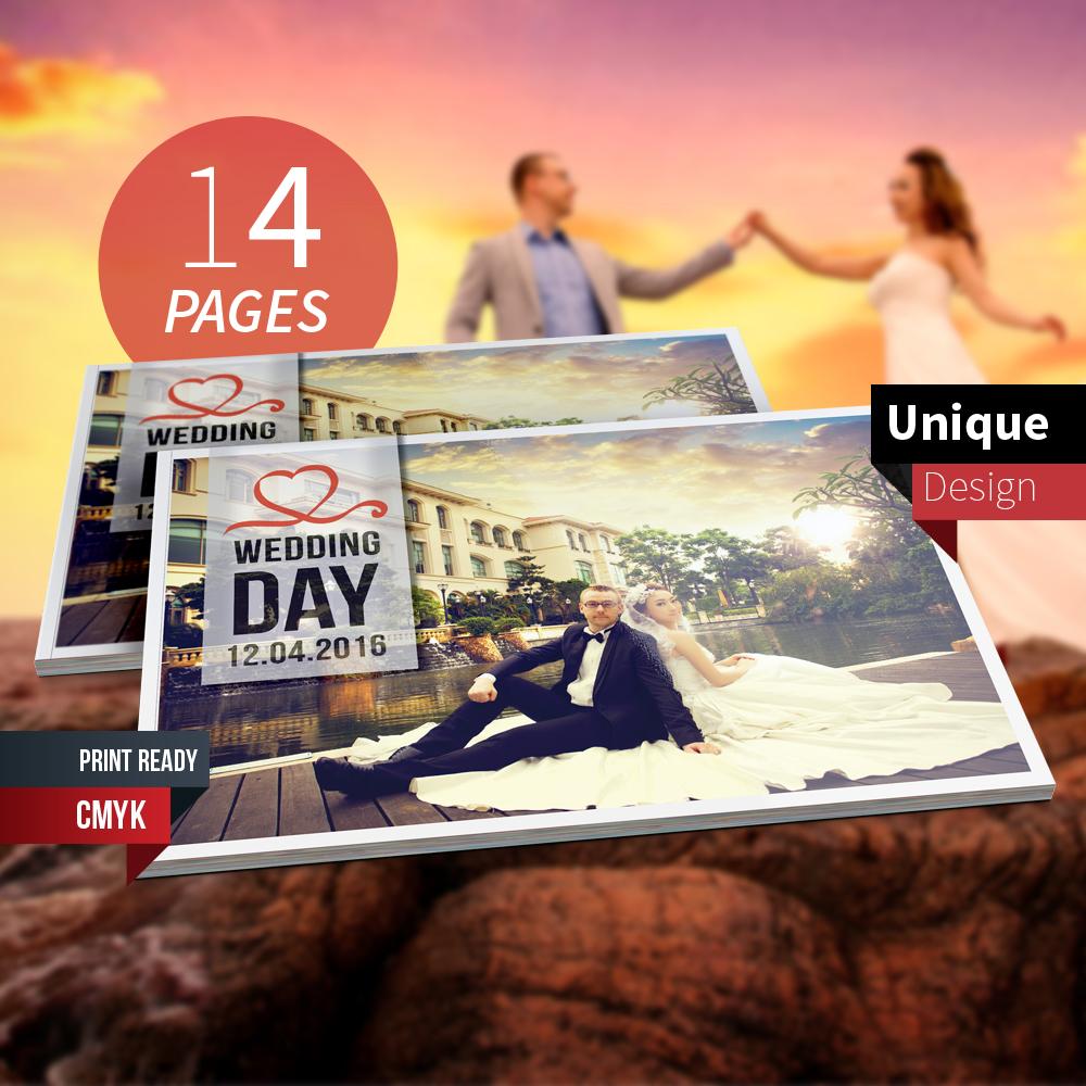 Wedding Photo Album On Behance