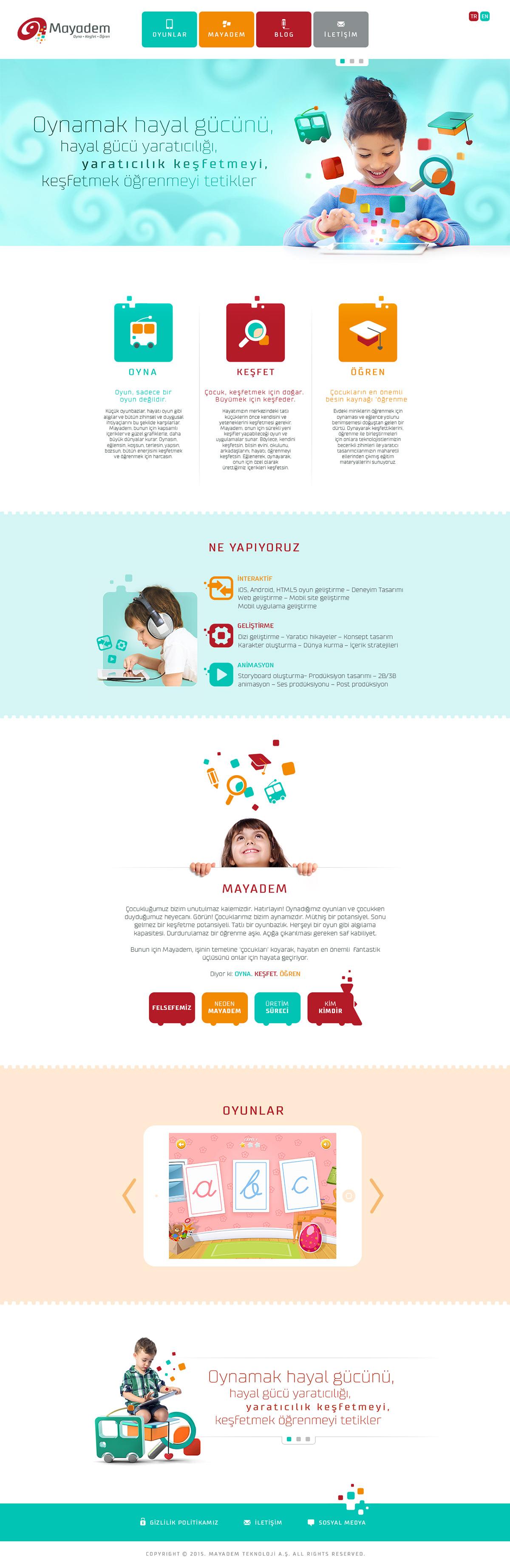 mayadem Website
