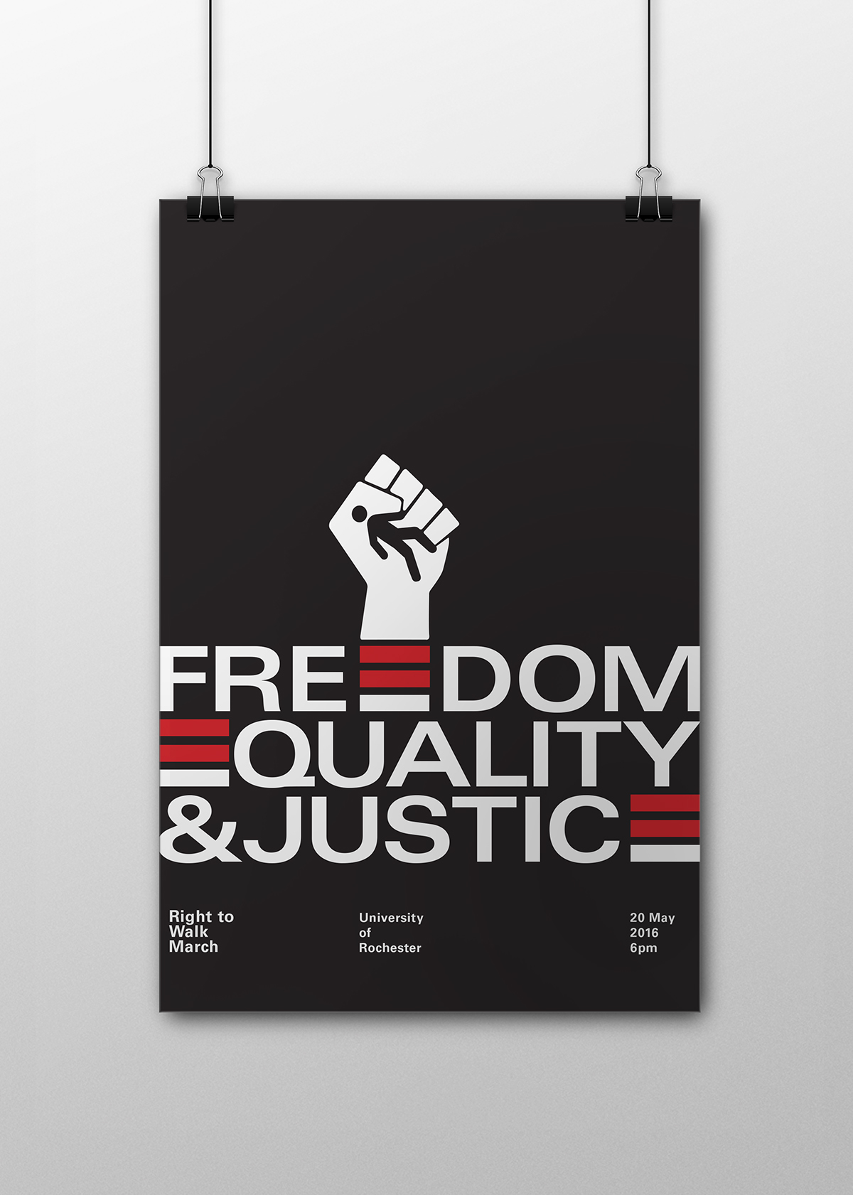 Freedom Equality And Justice Poster On Behance