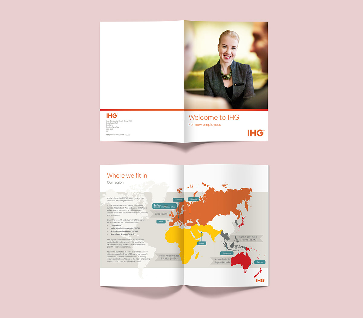 IHG (InterContinental Hotels Group) Leaflet on Behance