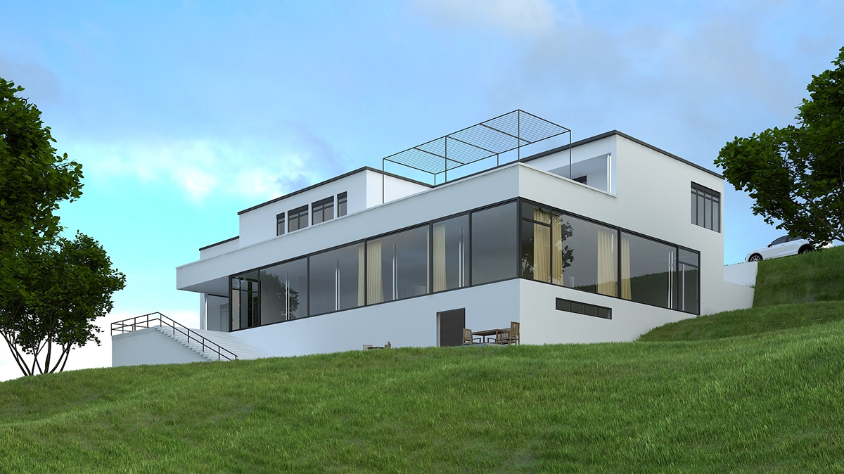 Mies Der Rohe Haus Tugendhat tugendhat house by mies der rohe on behance