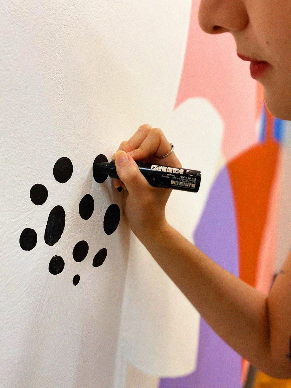 Grafiti grafitti painting   Drawing  female botanical pintura Parede ILLUSTRATION  Ilustração