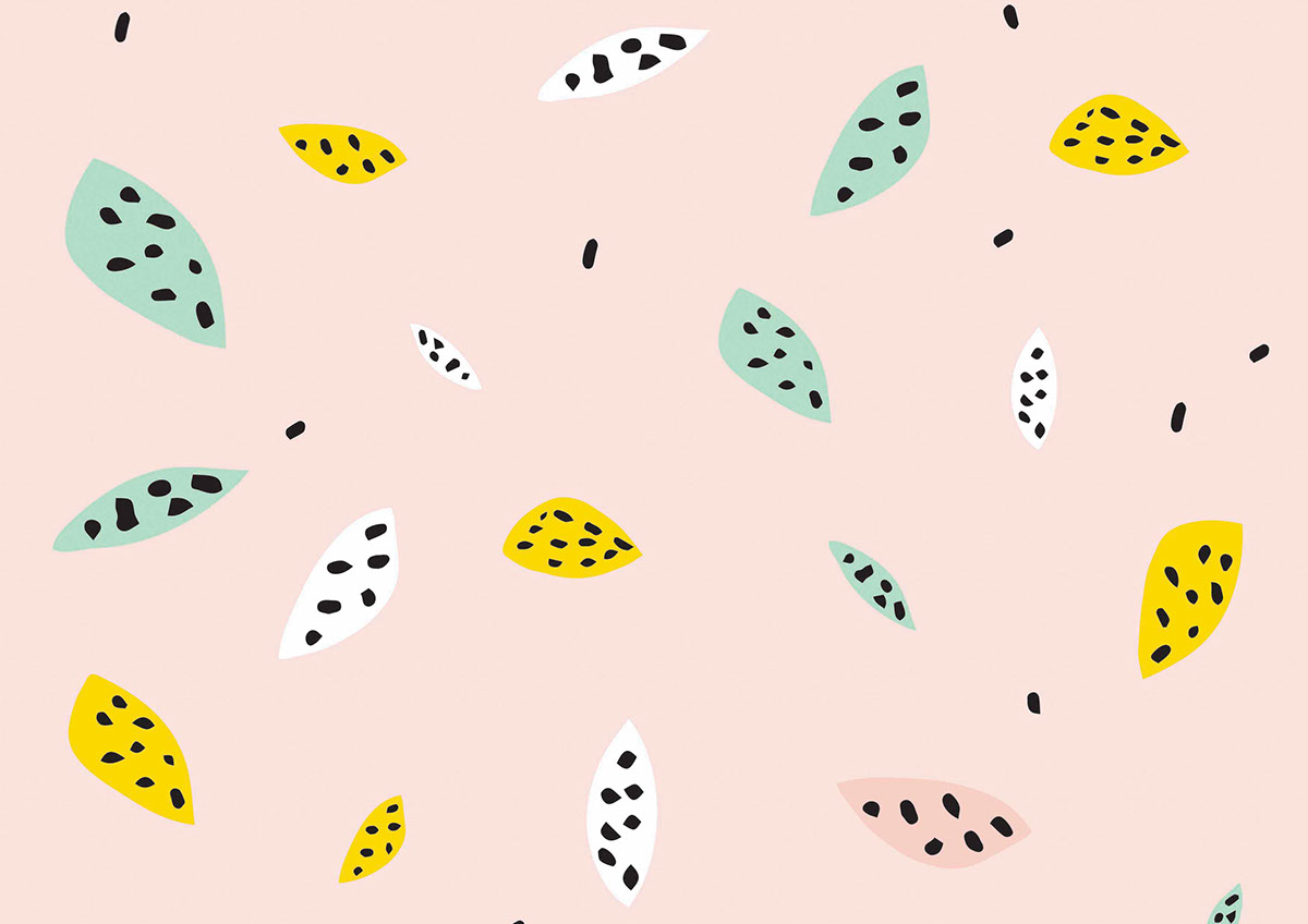 Quirky Wallpaper Illustrations On Behance