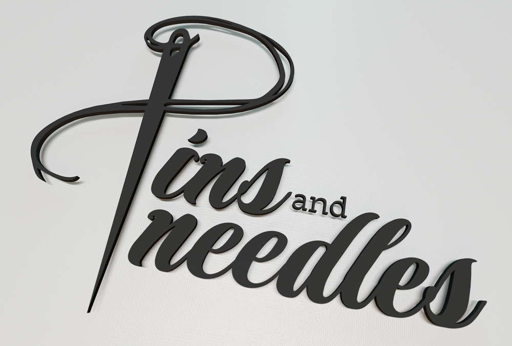 Pins and Needles - Logo and business card design on Behance