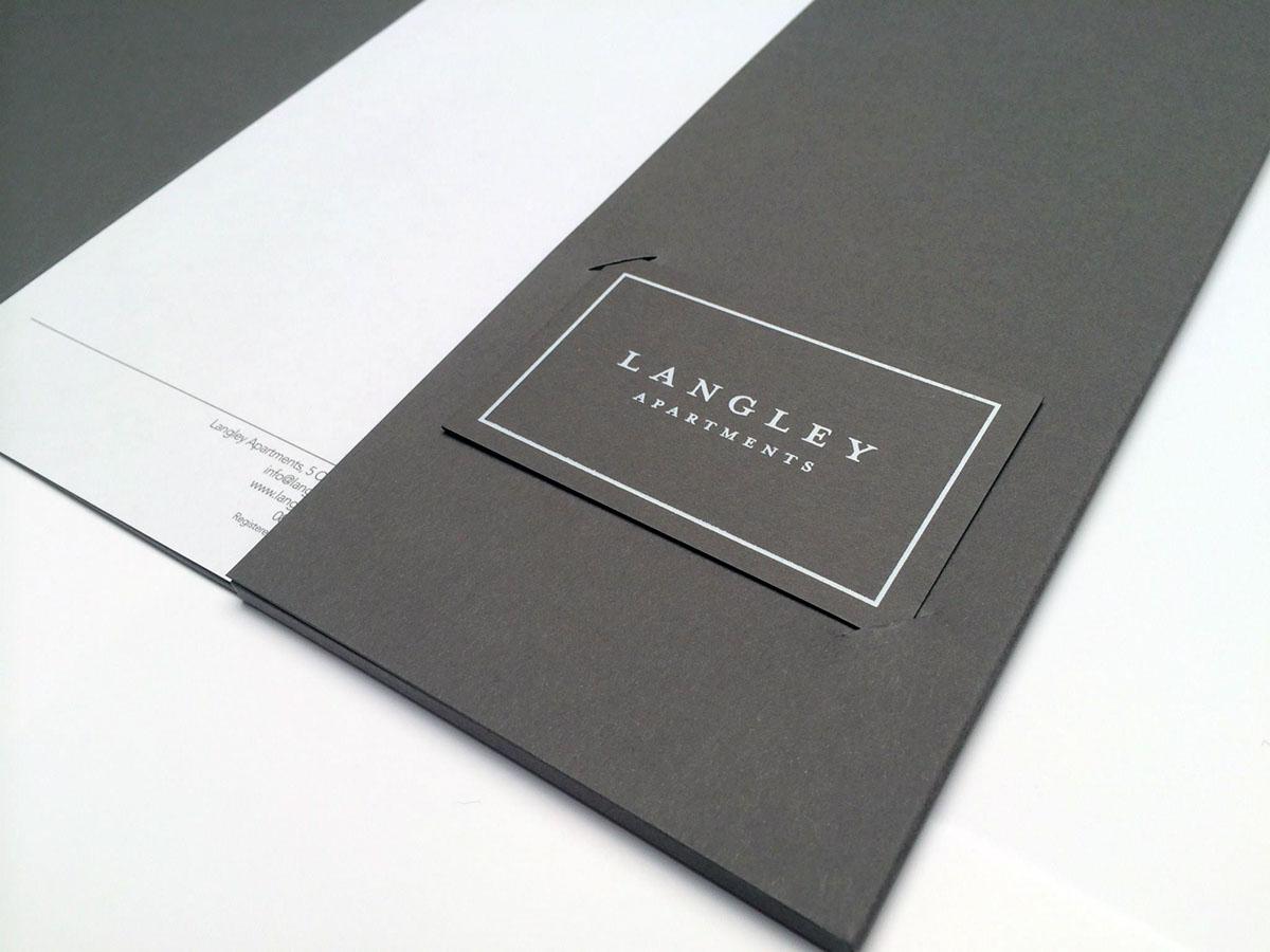 Adobe Portfolio print foil luxury brand hotel Retail Hospitality