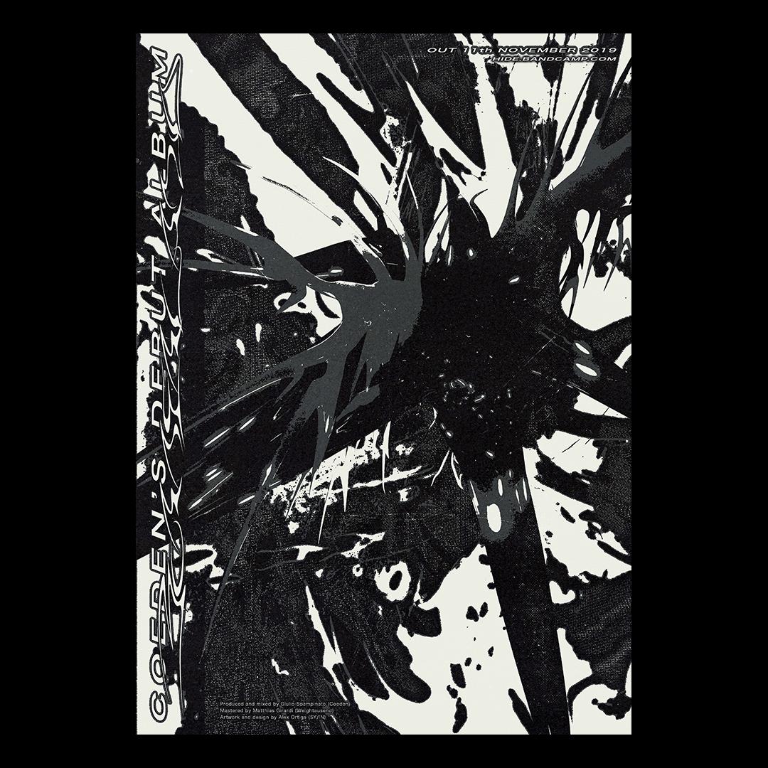 dark ambient Post Club design experimental acid New Type custom type weird design abstract