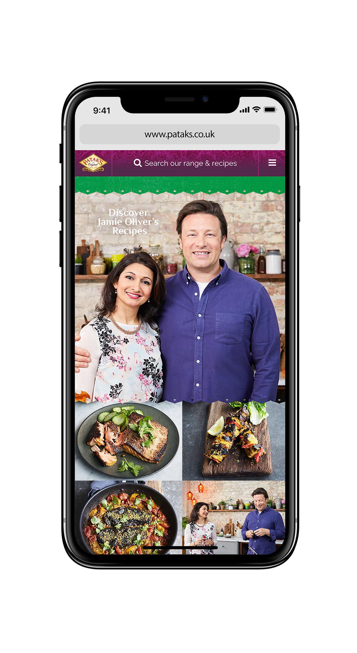 Pataks Uk Jamie Oliver Hub On Pantone Canvas Gallery