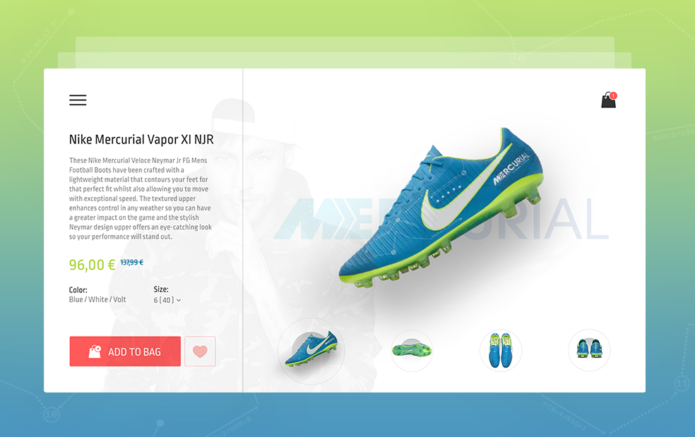 PRODUCT PAGE • NIKE on Behance