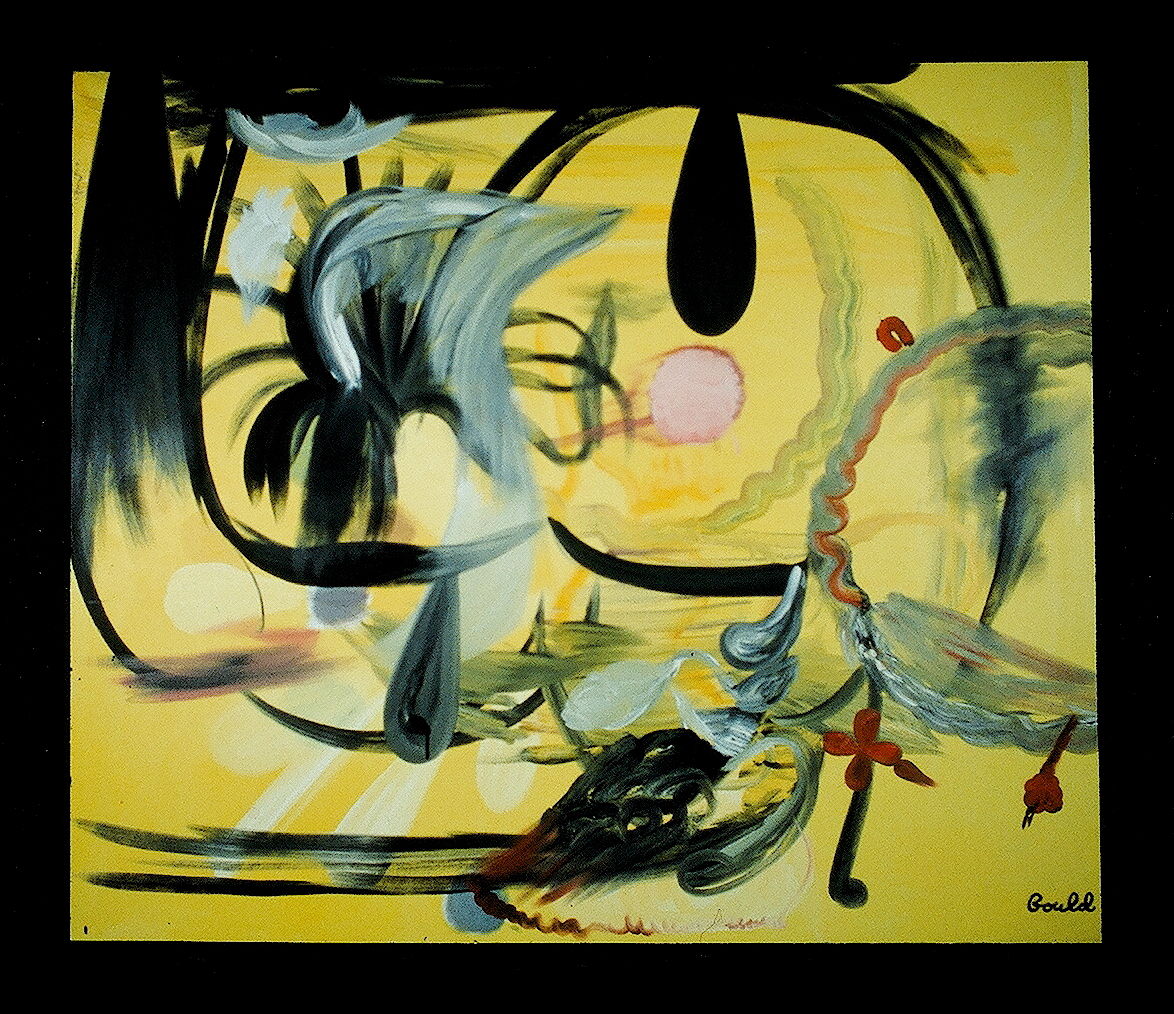 colorful large oil painterly surrealist expressive