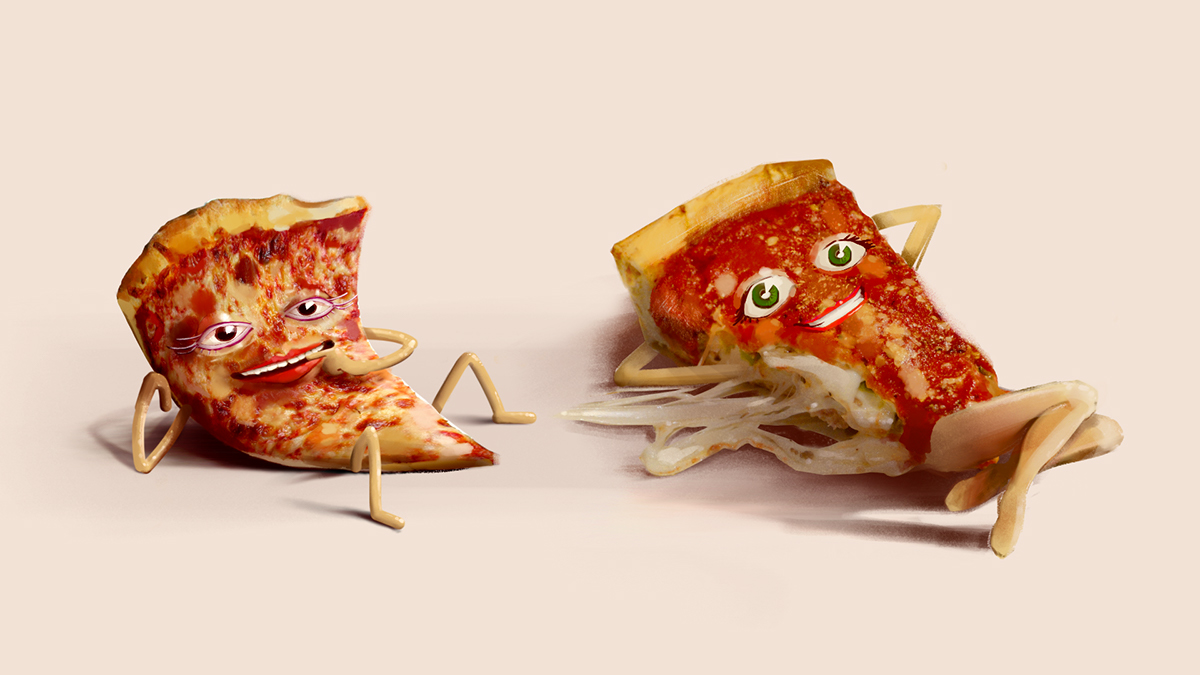 Orbit Sexy Pizza on Behance