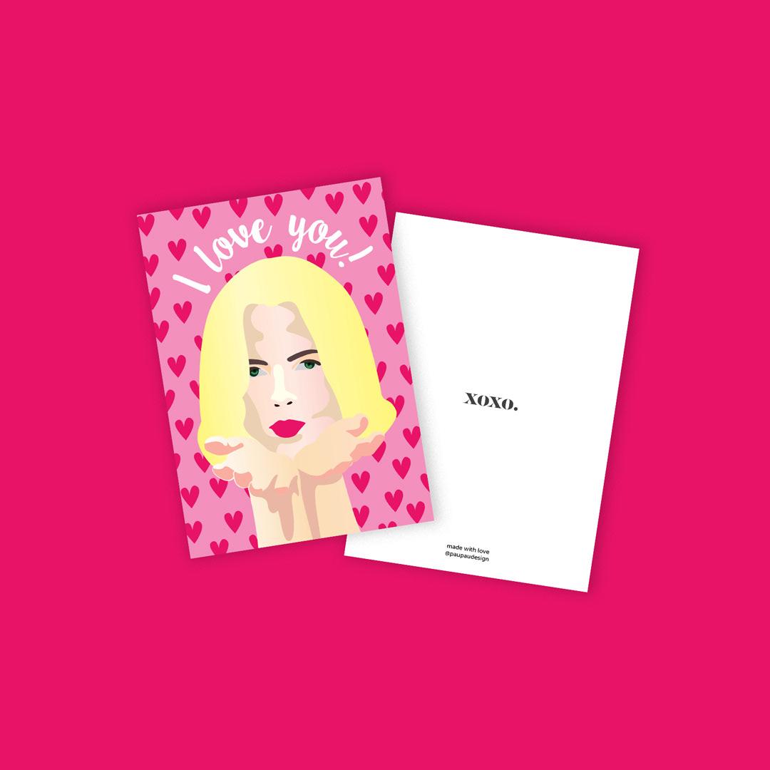 postcards Christmas xmas colorful ILLUSTRATION  digital illustration Fun post cards art typography