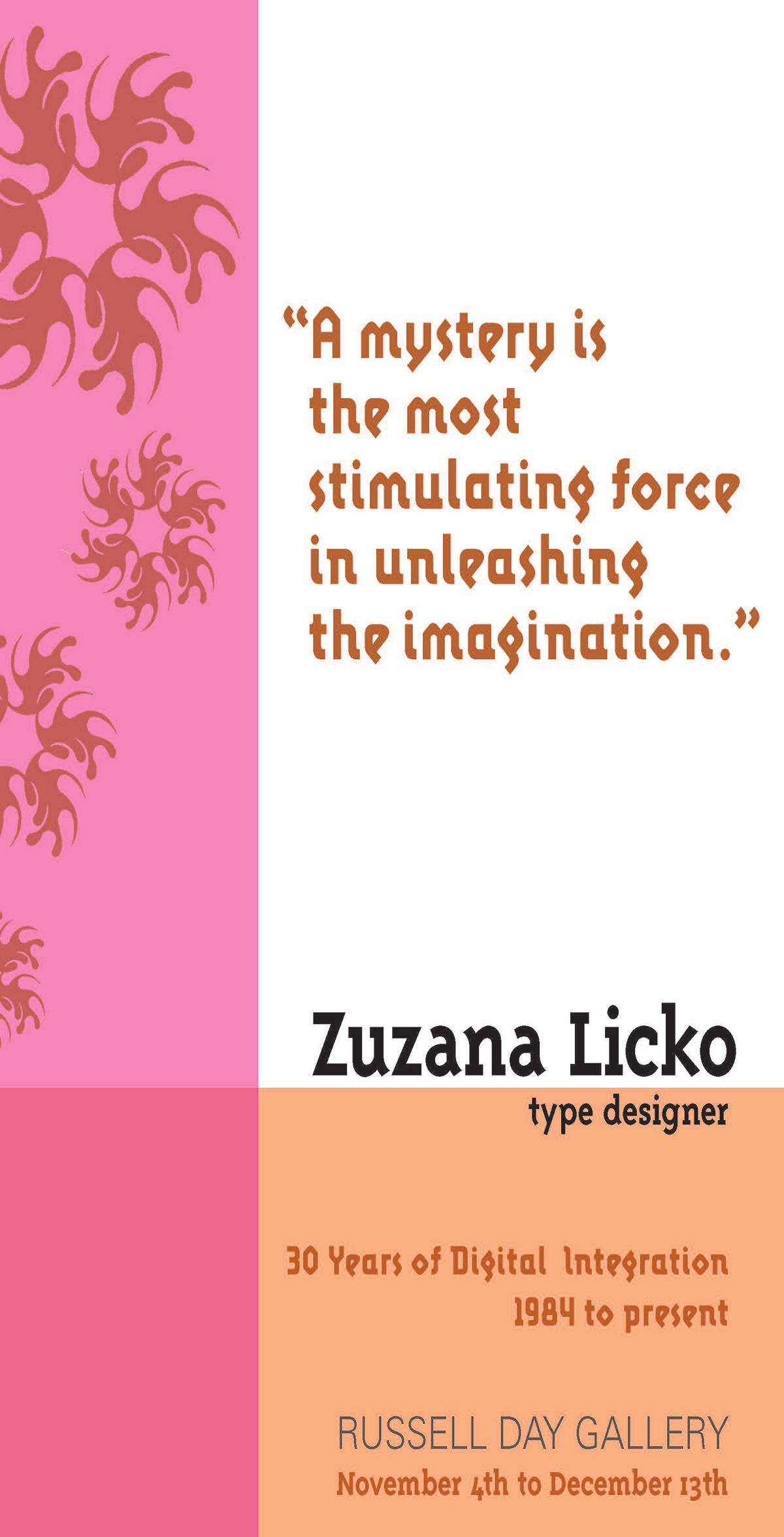 Zuzana Licko Booklet on AIGA Member Gallery